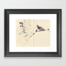 Sketchbook Framed Art Print