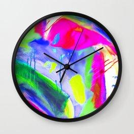 Art Attack Wall Clock