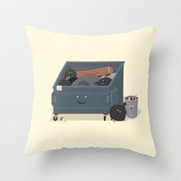 BandNames : Garbage Throw Pillow