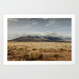 Great Sand Dunes National Park - Mountains Art Print
