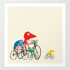 Bike is Life Art Print