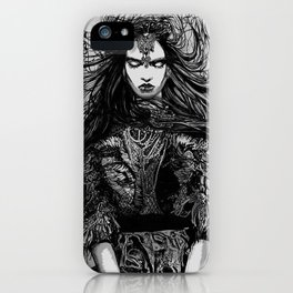 WARRIOR iPhone Case
