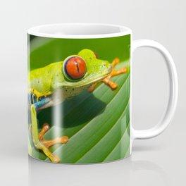 Green Tree Frog Red-Eyed Coffee Mug