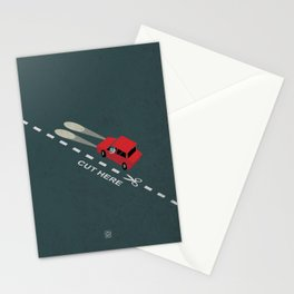 Livin' on the edge Stationery Cards