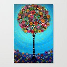 Tree of Life by Pristine Cartera Turkus Canvas Print