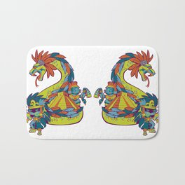 Mexican Gods Bath Mat