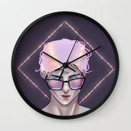 The Portent of Prodigy Wall Clock