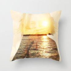 Insideout 5 Throw Pillow