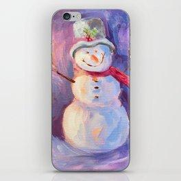 Snowman iPhone Skin
