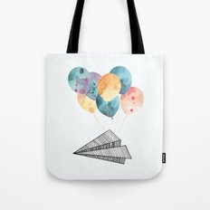 Fly paper plane! Tote Bag