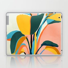 Nature Does Not Hurry Yet Everything Is Accomplished #painting Laptop & iPad Skin