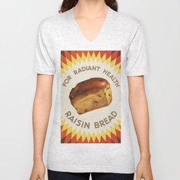 Raisin Bread Unisex V-Neck