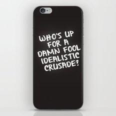 Follow me iPhone & iPod Skin
