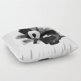 Ampersand Paint Floor Pillow