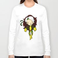rogue Long Sleeve T-shirts featuring ROGUE by Space Bat designs