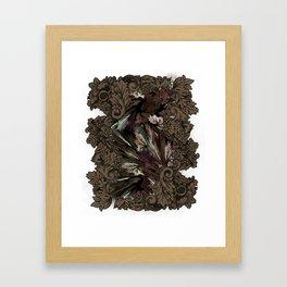 Impressive Brier Pattern  Framed Art Print
