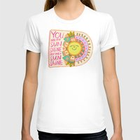 you are my sunshine T-shirts featuring You Are My Sunshine by Gigglebox