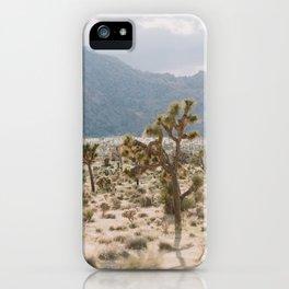 Golden Hour in Joshua Tree iPhone Case
