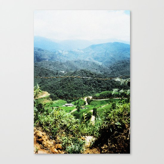THE HILLS ARE ALIVE Canvas Print