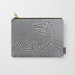 bird dancing Carry-All Pouch