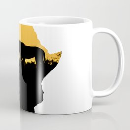 Africa Lion Coffee Mug