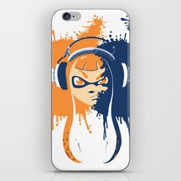 Splatoon: Squid Girl Splash Jam iPhone Skin