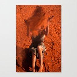Sandwomen Canvas Print