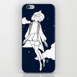 Weightless Witch - Night iPhone Skin