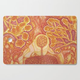 Rooted Cutting Board