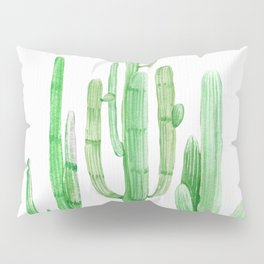 Three Amigos Cacti Green Pillow Sham