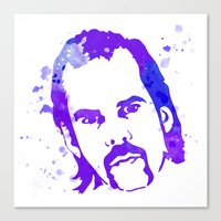 nick cave Canvas Prints featuring NICK CAVE by BIG Colours
