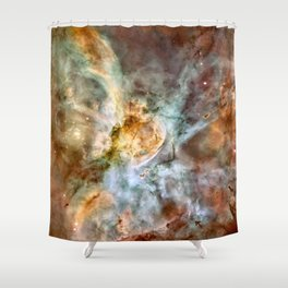 Carina Nebula, Star Birth in the Extreme - High Quality Image Shower Curtain