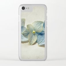 3 blooms Clear iPhone Case