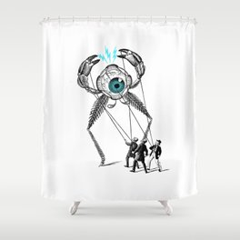 The Taming  Shower Curtain