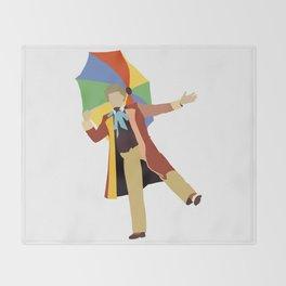 Sixth Doctor: Colin Baker Throw Blanket