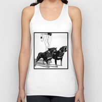 rottweiler Tank Tops featuring Fashion Rottweiler  by Gregory Casares