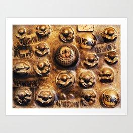 Yogis Art Print