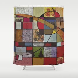 Circle of Colors Shower Curtain