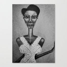 Miss TWA BW Canvas Print