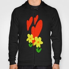 Hearts and Flowers Hoody