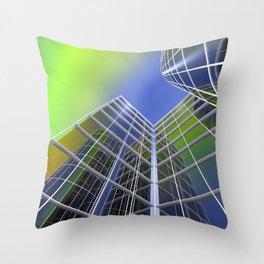 clock face -160- Throw Pillow