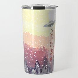 Christmas UFO Travel Mug
