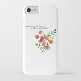 Call Me By Your Name - Inscription iPhone Case
