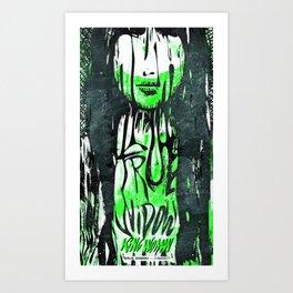 True Widow and King Woman — Live in Berlin 2017 Art Print