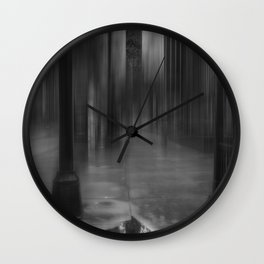 Rainy Mood Wall Clock