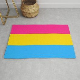 Pansexual Pride Flag Rug