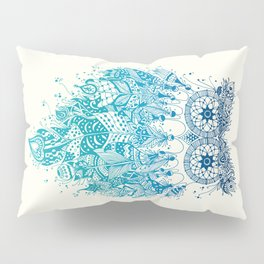 Blue Dream Catcher Pillow Sham