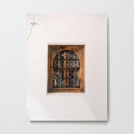 Arabic Moroccan window in Cordoba Spain | Fine art photography print Metal Print