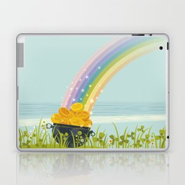 Rainbow. St. Patrick's Day. Laptop & iPad Skin