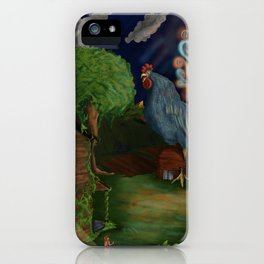 Marie and the Basan  iPhone Case